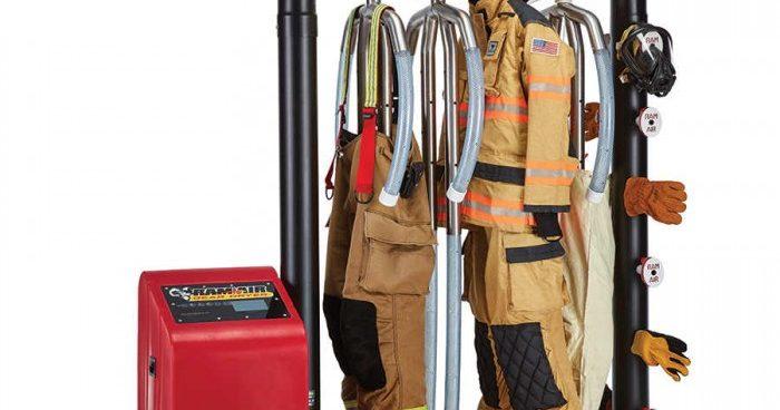 خط تولید خشک کن لباس آتش نشانی