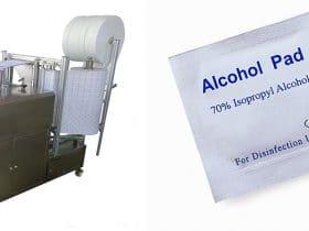 راه اندازی خط تولید پد الکلی/پد لاک پاک کن/دستمال مرطوب